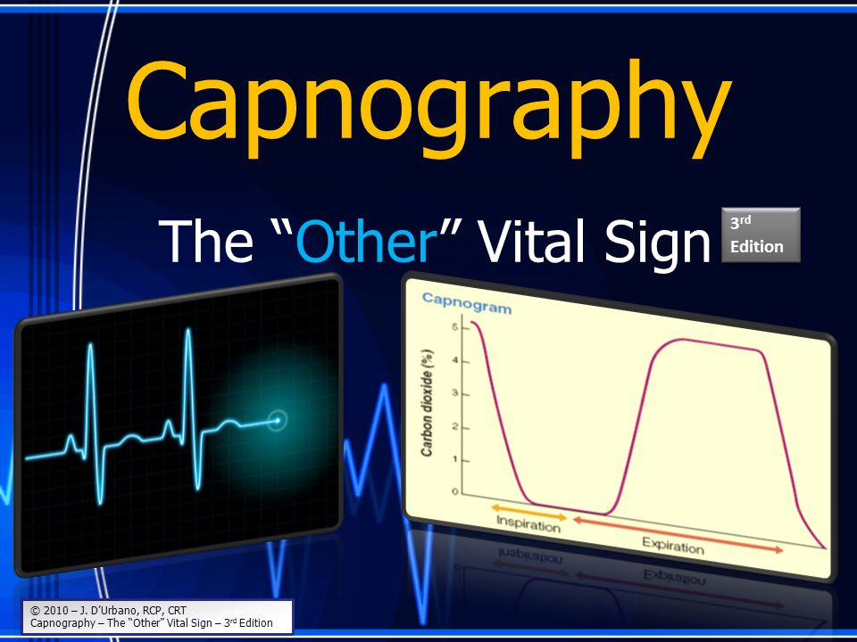 Capnography The Other Vital Sign 3rd Edition
