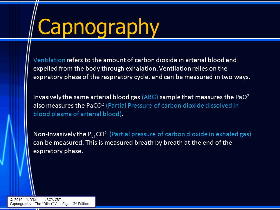 Capnography