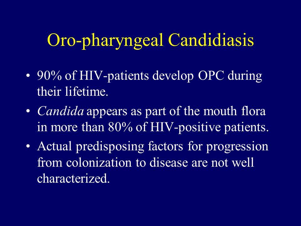 Oro-pharyngeal Candidiasis