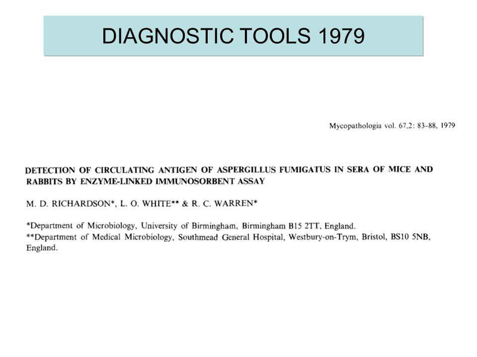 DIAGNOSTIC TOOLS 1979