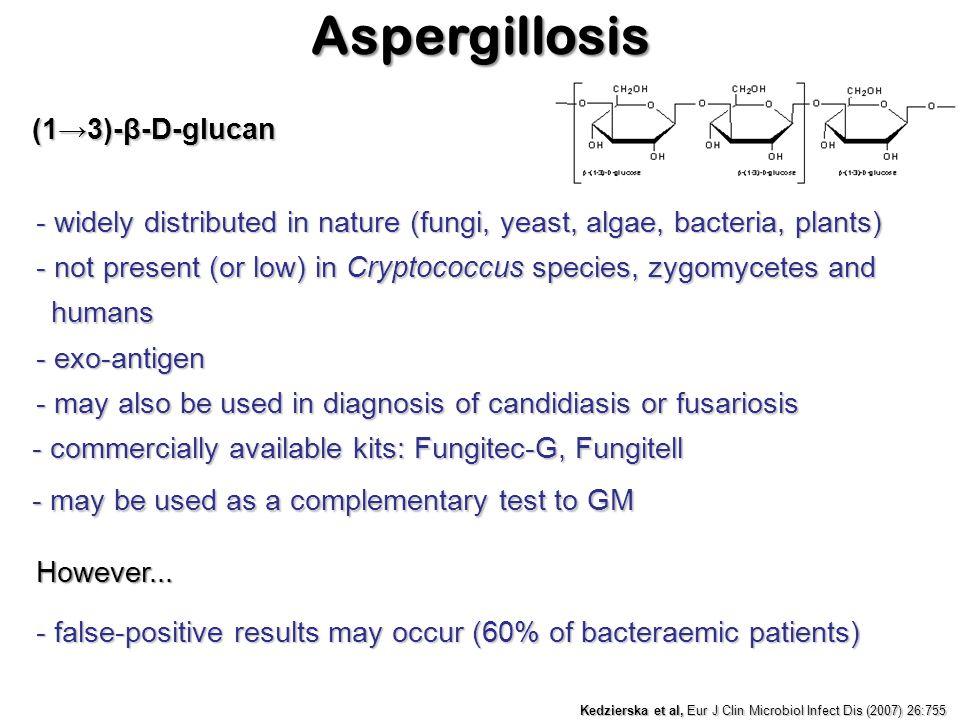 Aspergillosis (1→3)-β-D-glucan