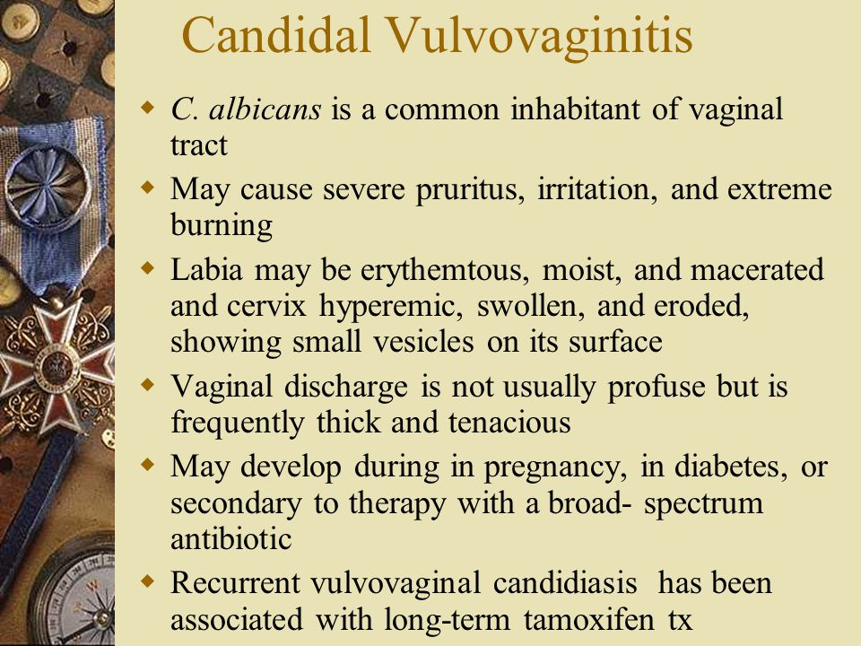 Candidal Vulvovaginitis