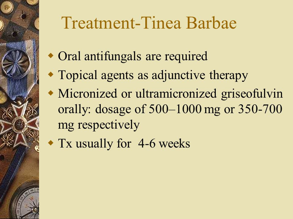 Treatment-Tinea Barbae