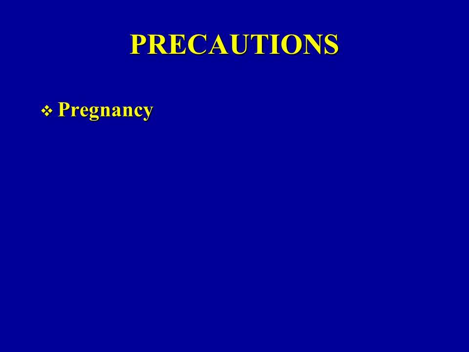 PRECAUTIONS Pregnancy