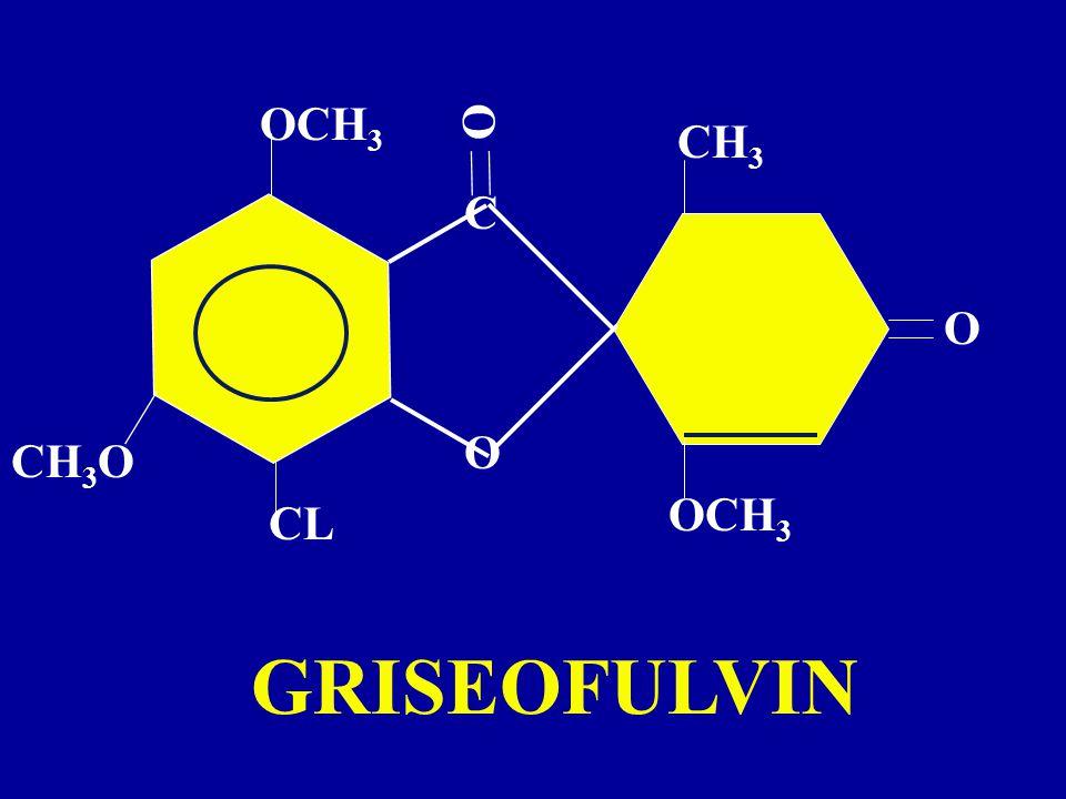 OCH3 O CH3 C O O CH3O OCH3 CL GRISEOFULVIN