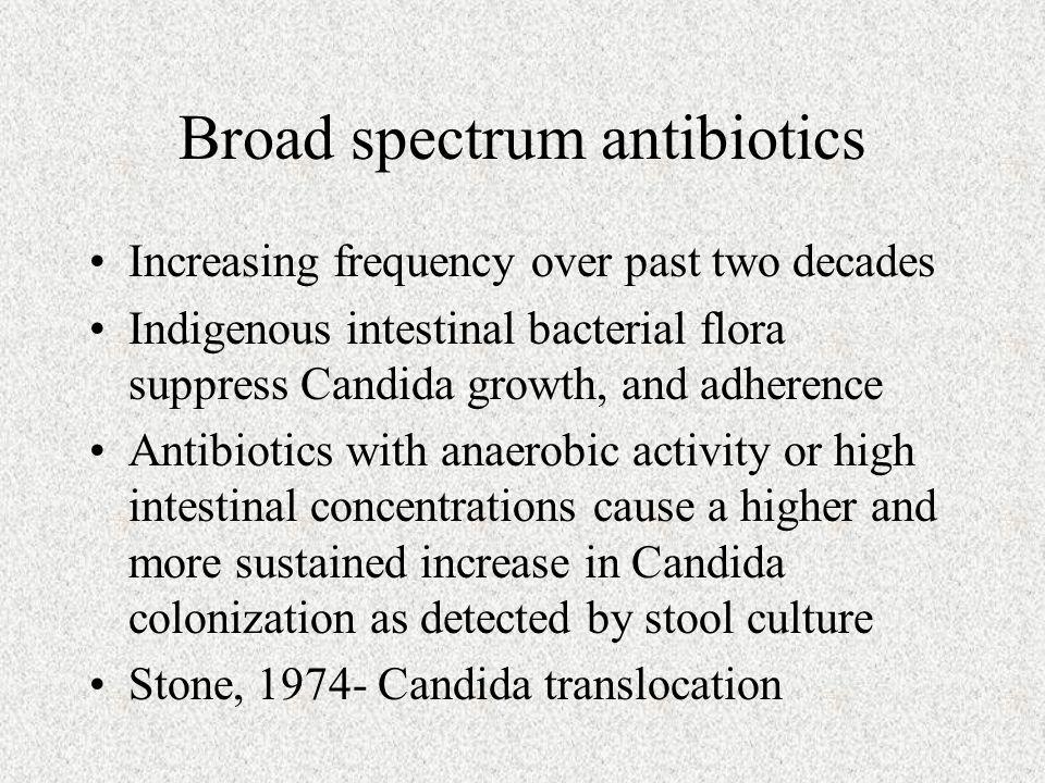Broad spectrum antibiotics
