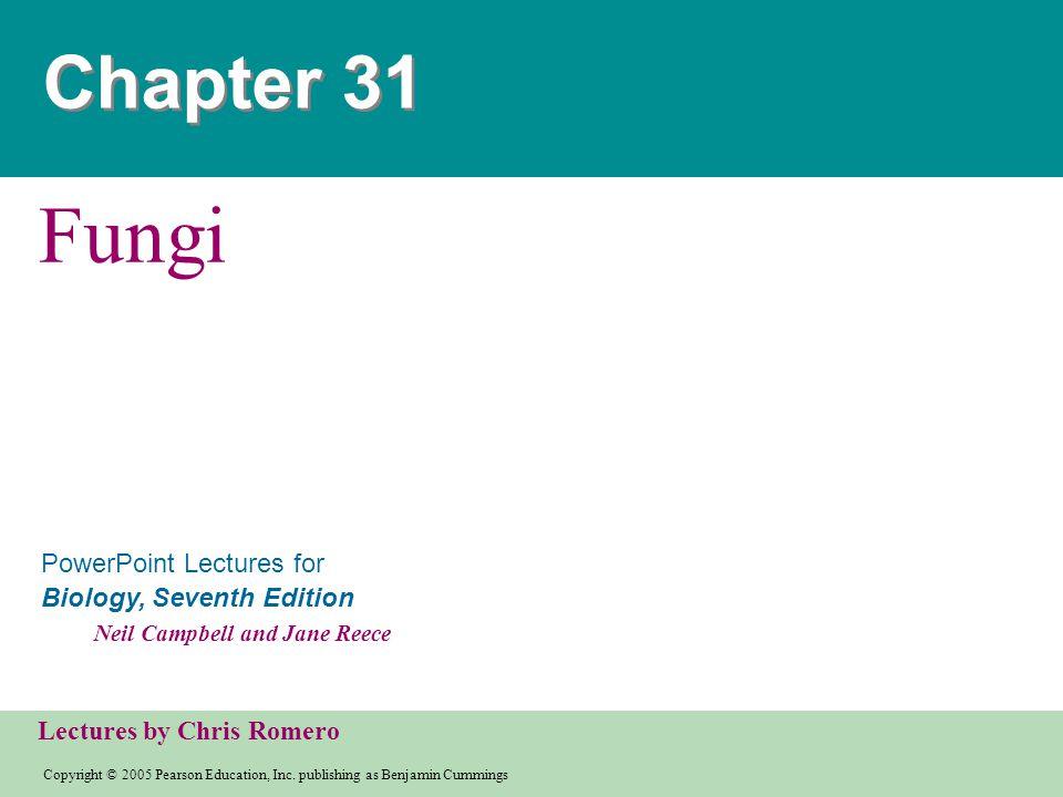 Chapter 31 Fungi