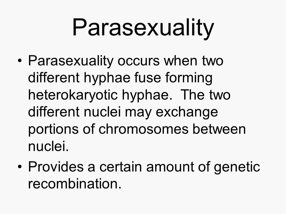 Parasexuality
