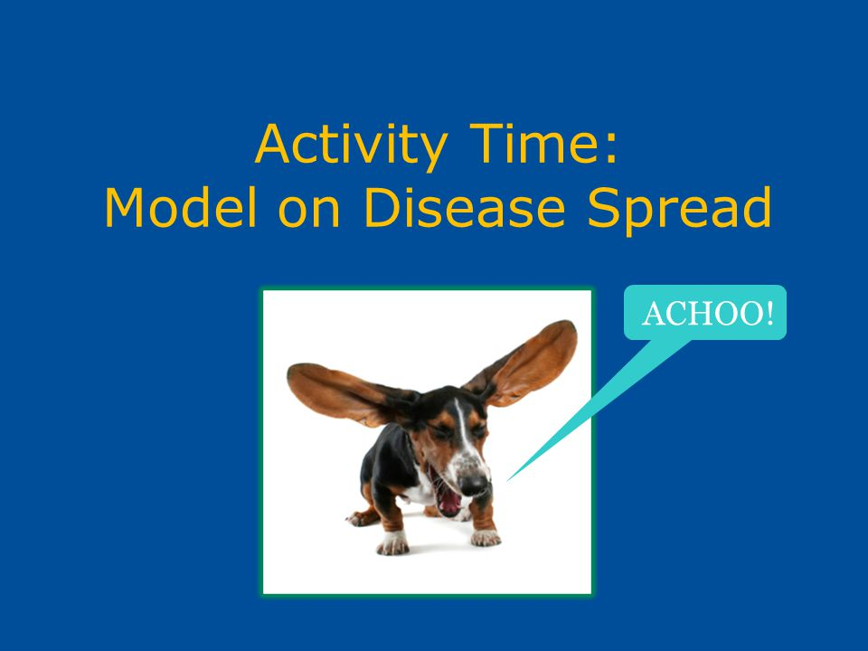 Activity Time: Model on Disease Spread