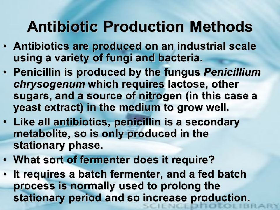 Antibiotic Production Methods