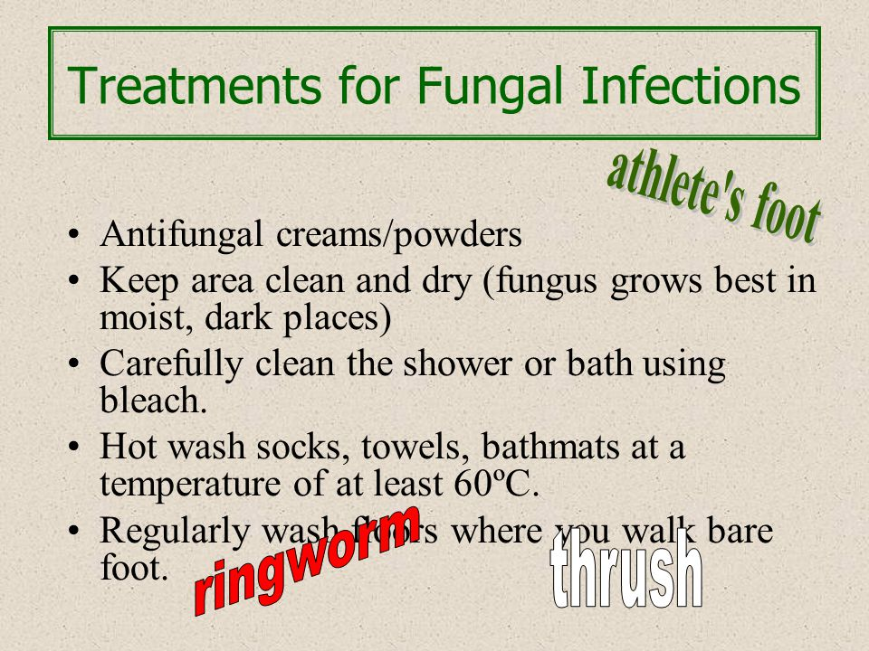 Treatments for Fungal Infections