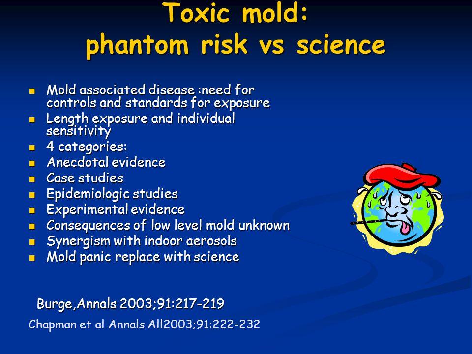 Toxic mold: phantom risk vs science