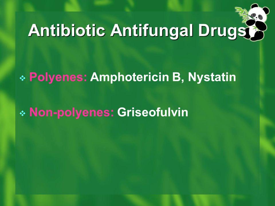 Antibiotic Antifungal Drugs