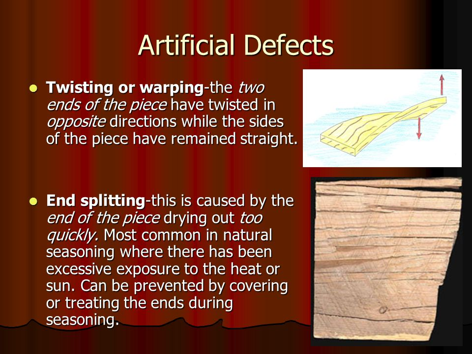 Artificial Defects