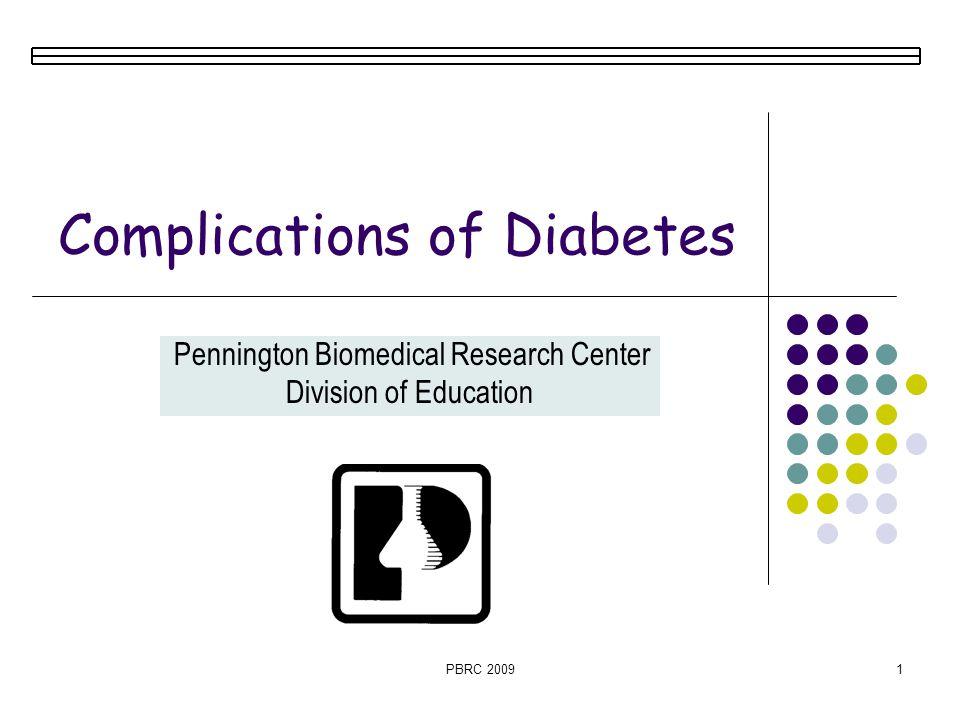 Complications of Diabetes