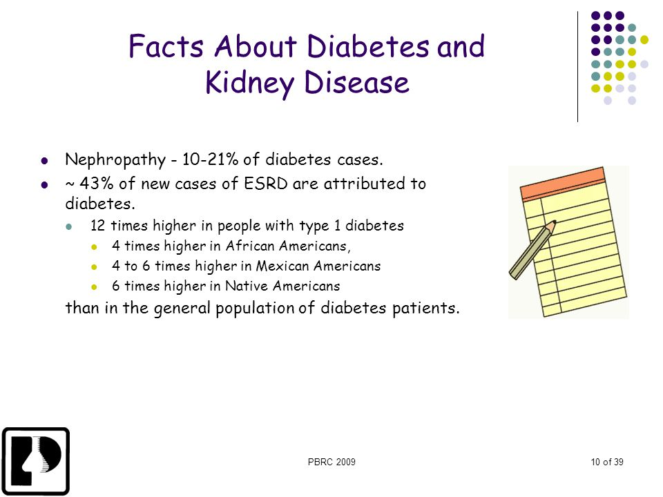 Facts About Diabetes and Kidney Disease