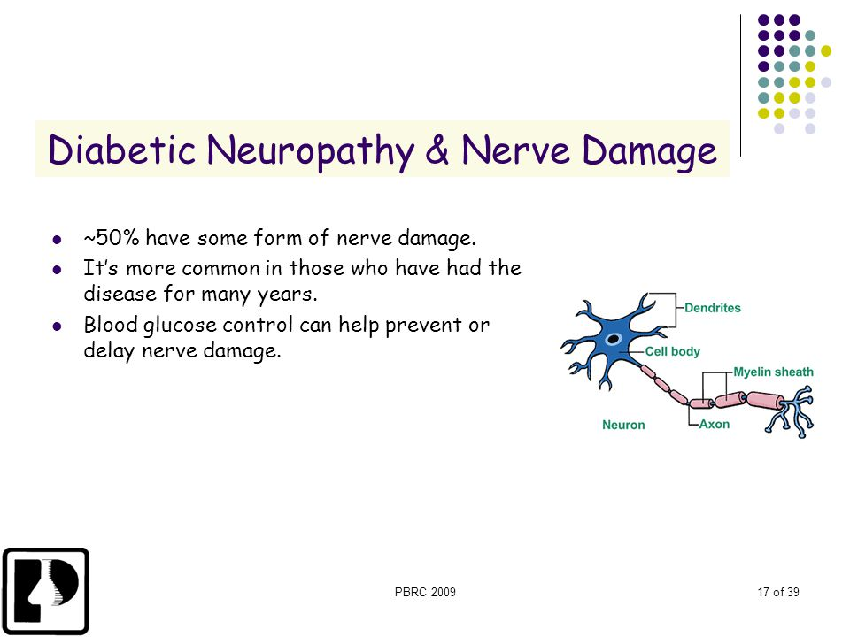 Diabetic Neuropathy & Nerve Damage