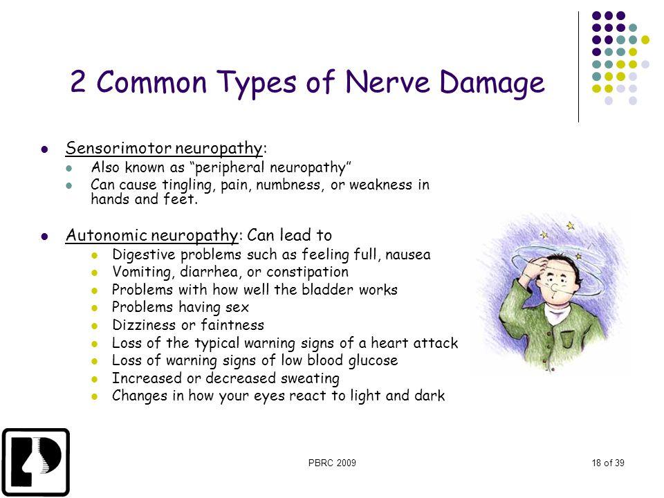2 Common Types of Nerve Damage