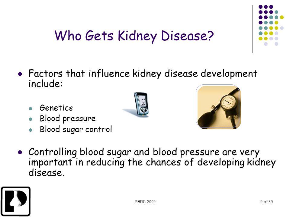 Who Gets Kidney Disease