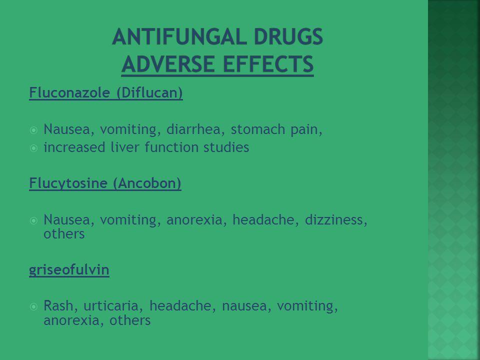 Antifungal Drugs Adverse Effects