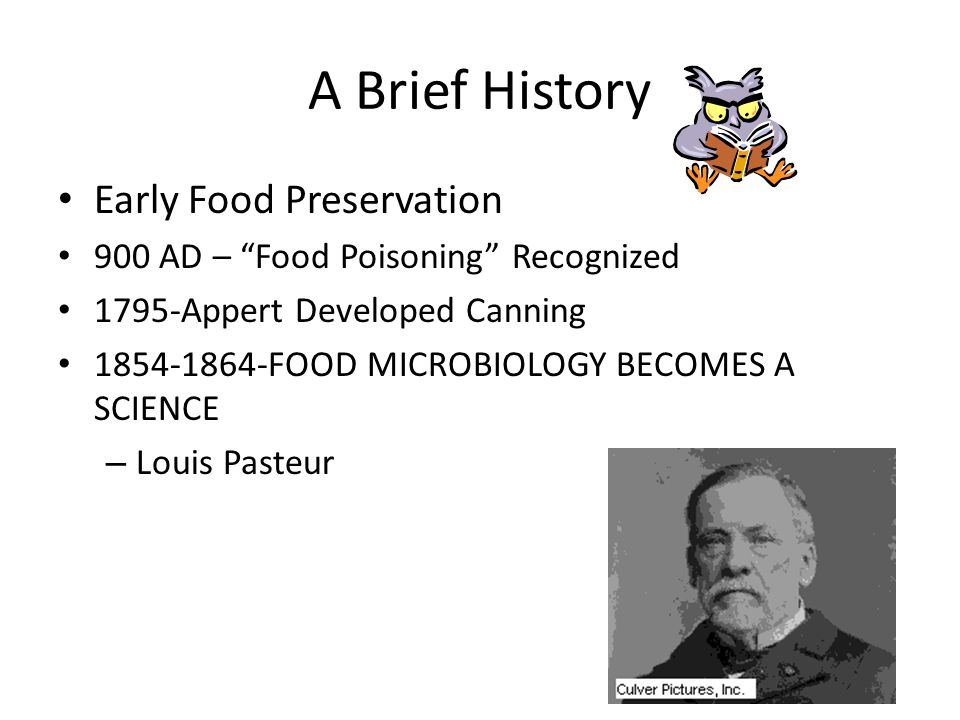 A Brief History Early Food Preservation
