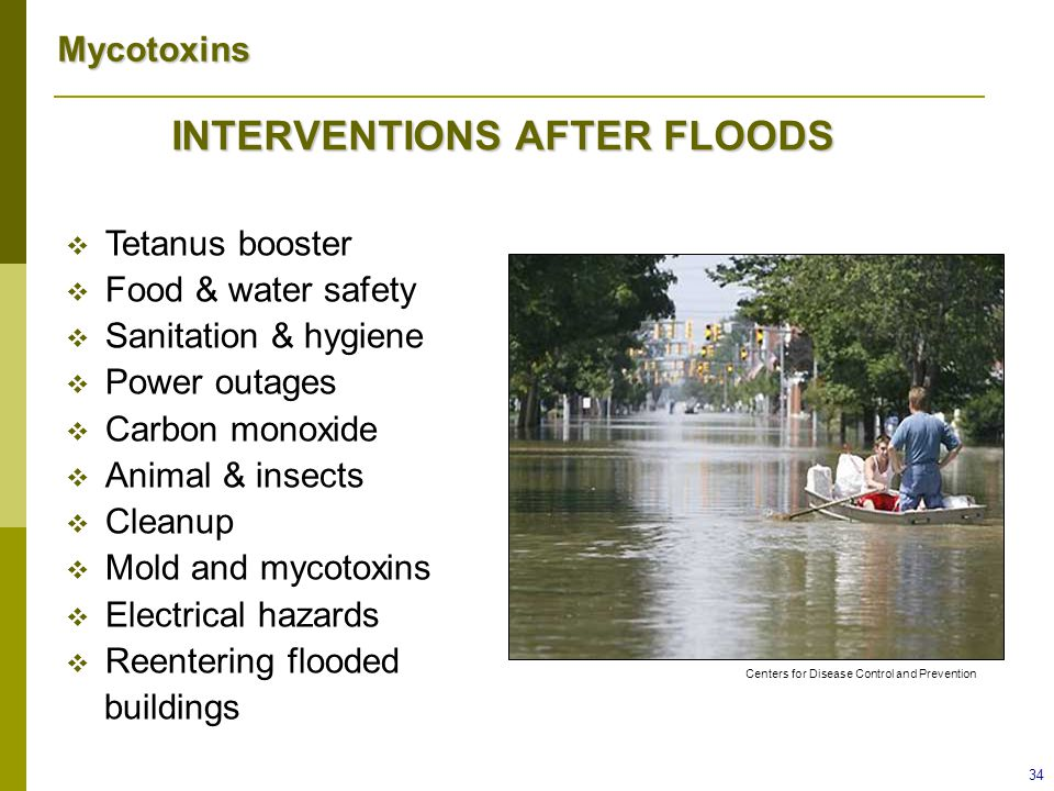 INTERVENTIONS AFTER FLOODS