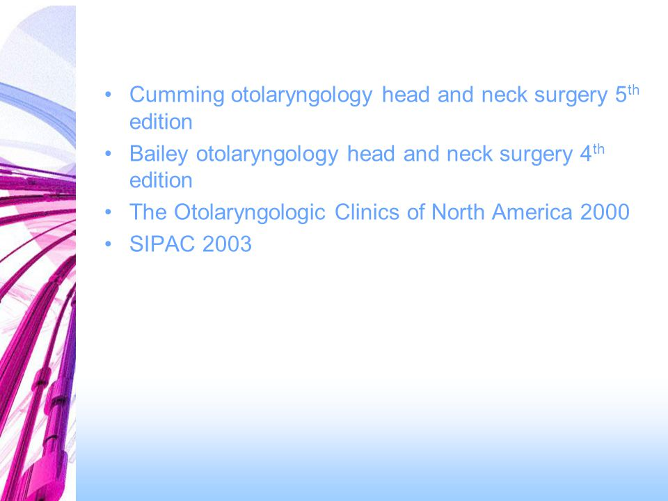 Cumming otolaryngology head and neck surgery 5th edition