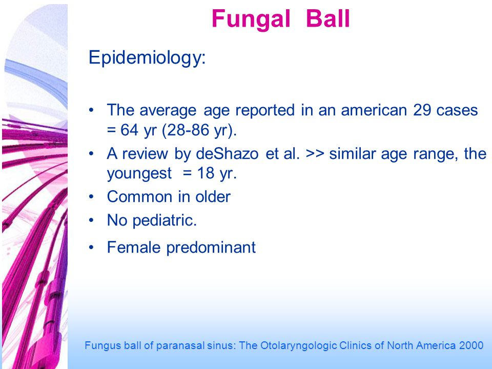 Fungal Ball Epidemiology: