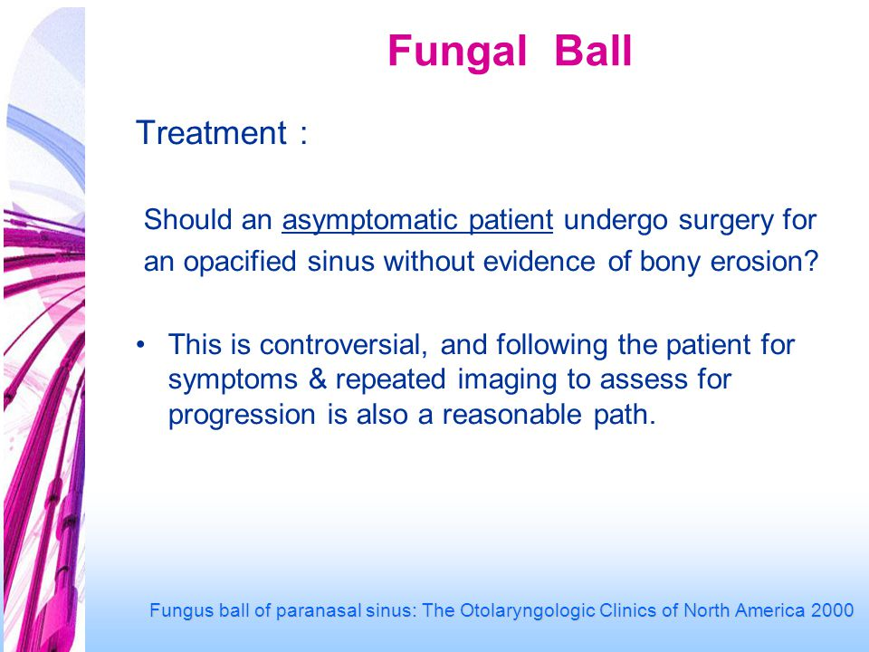 Fungal Ball Treatment :