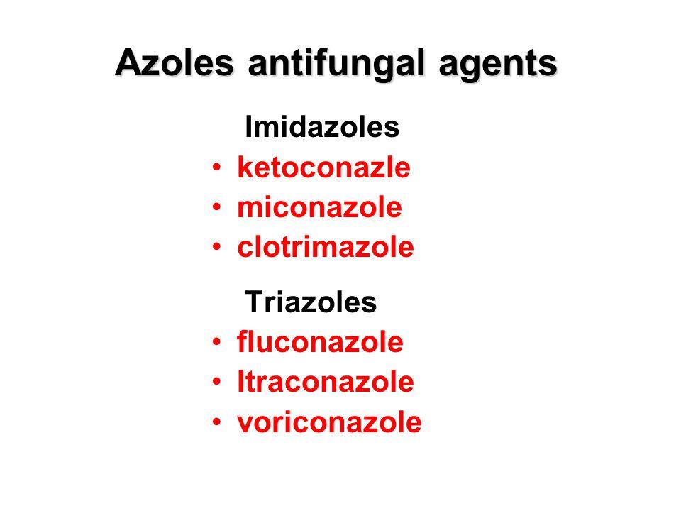 Azoles antifungal agents