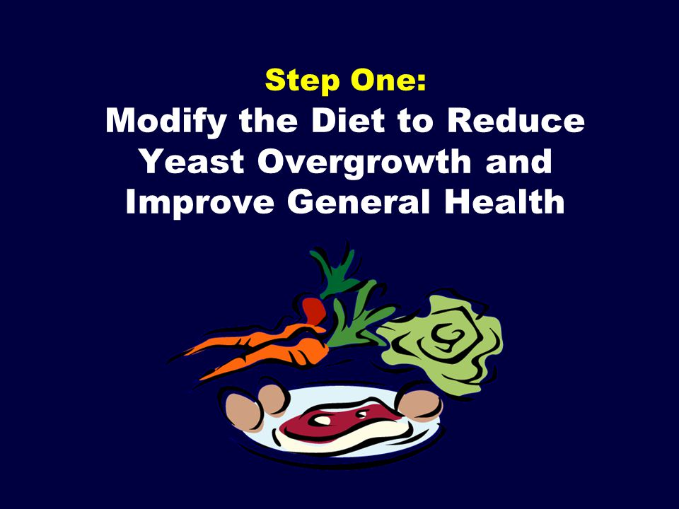Step One: Modify the Diet to Reduce Yeast Overgrowth and Improve General Health