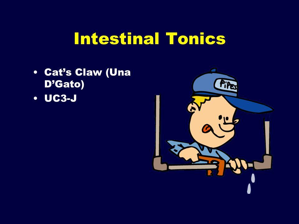 Intestinal Tonics Cat's Claw (Una D'Gato) UC3-J