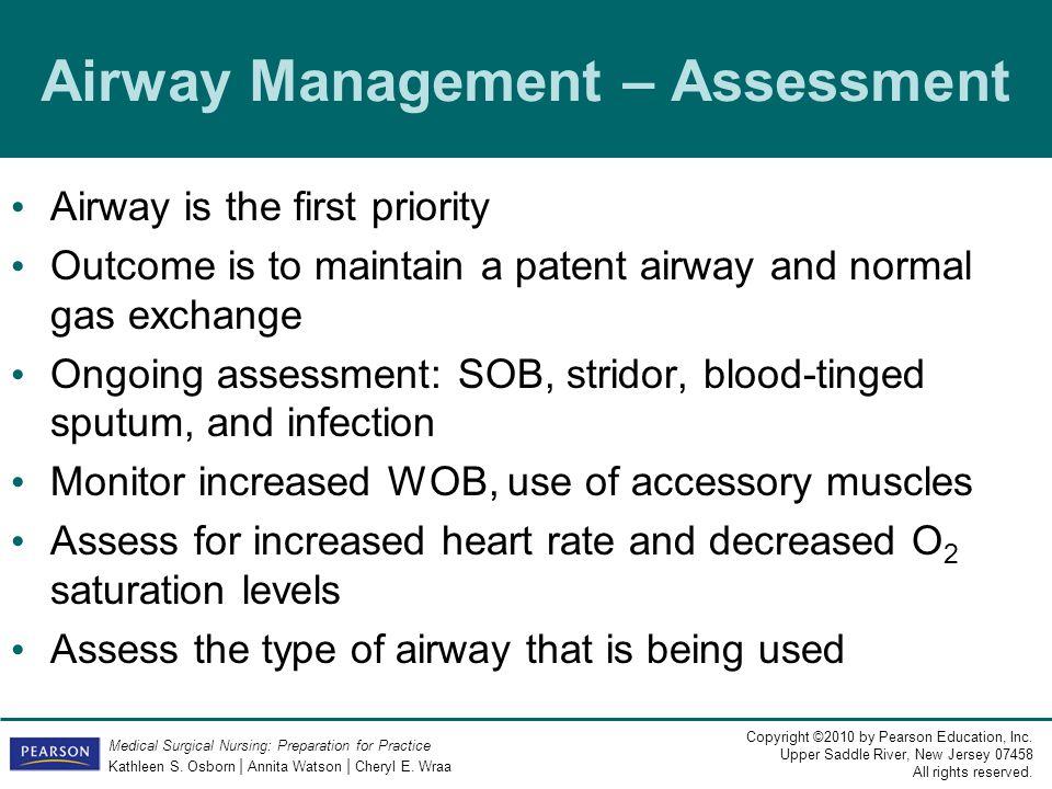 Airway Management – Assessment