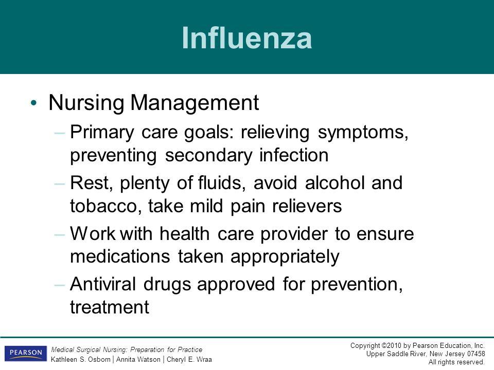Influenza Nursing Management