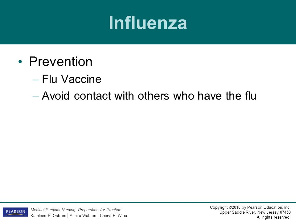 Influenza Prevention Flu Vaccine