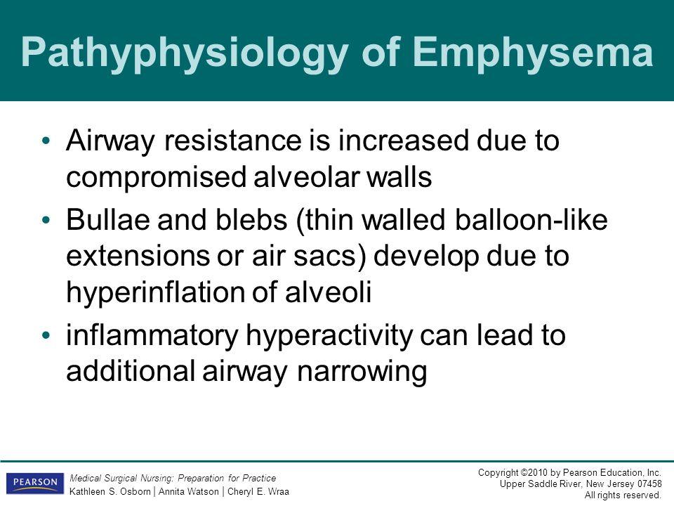 Pathyphysiology of Emphysema
