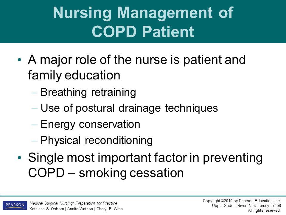 Nursing Management of COPD Patient