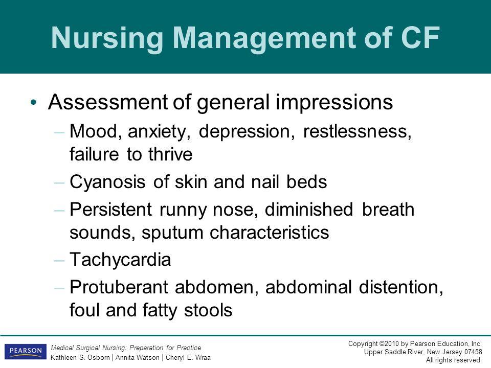 Nursing Management of CF