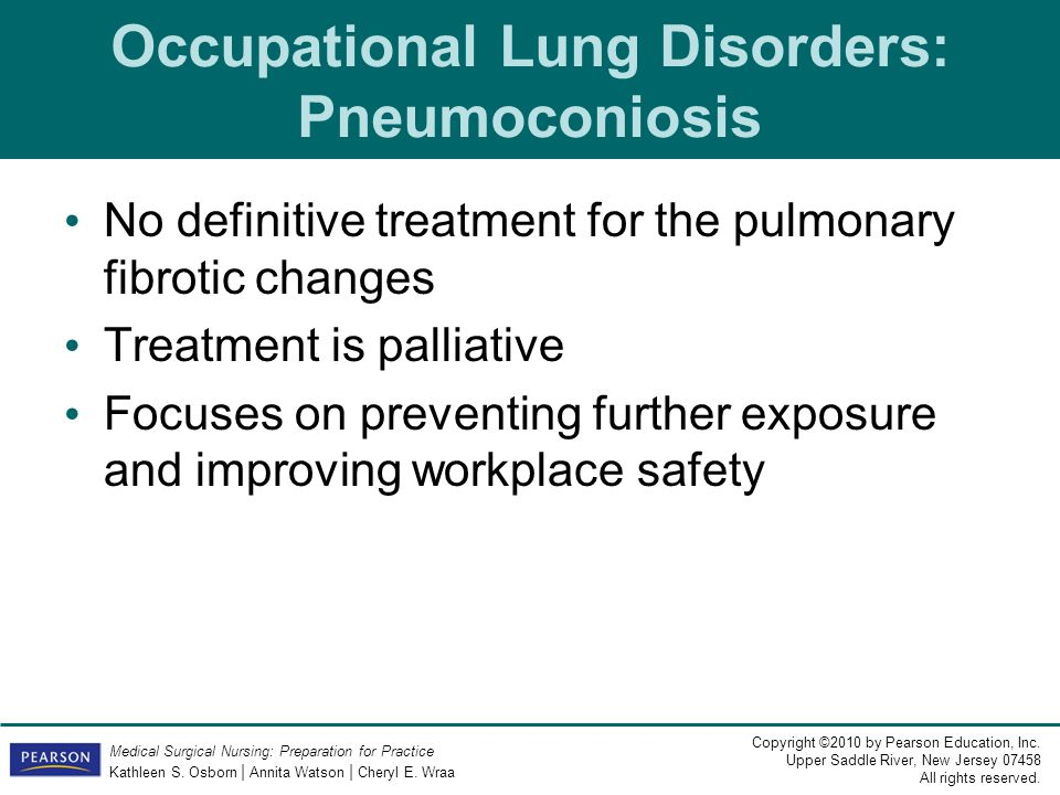 Occupational Lung Disorders: Pneumoconiosis
