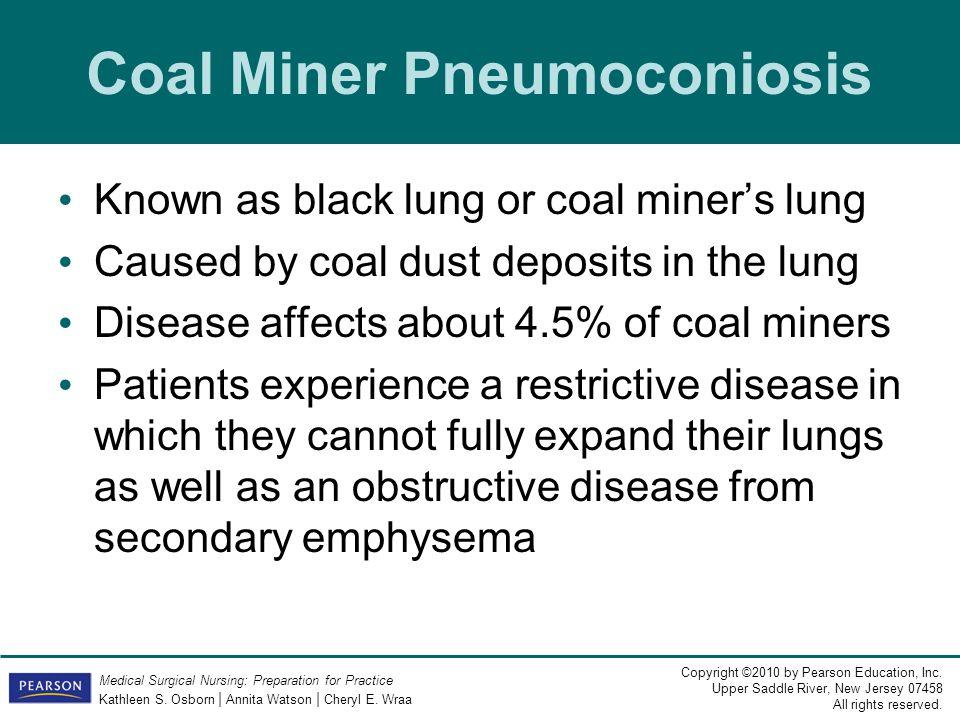 Coal Miner Pneumoconiosis