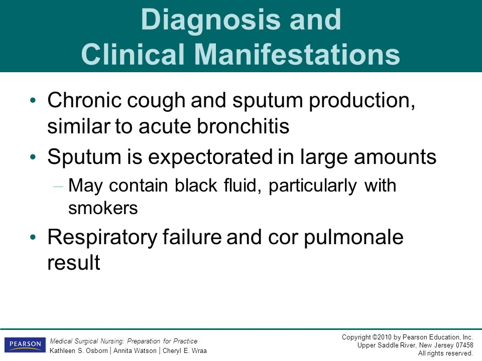 Diagnosis and Clinical Manifestations