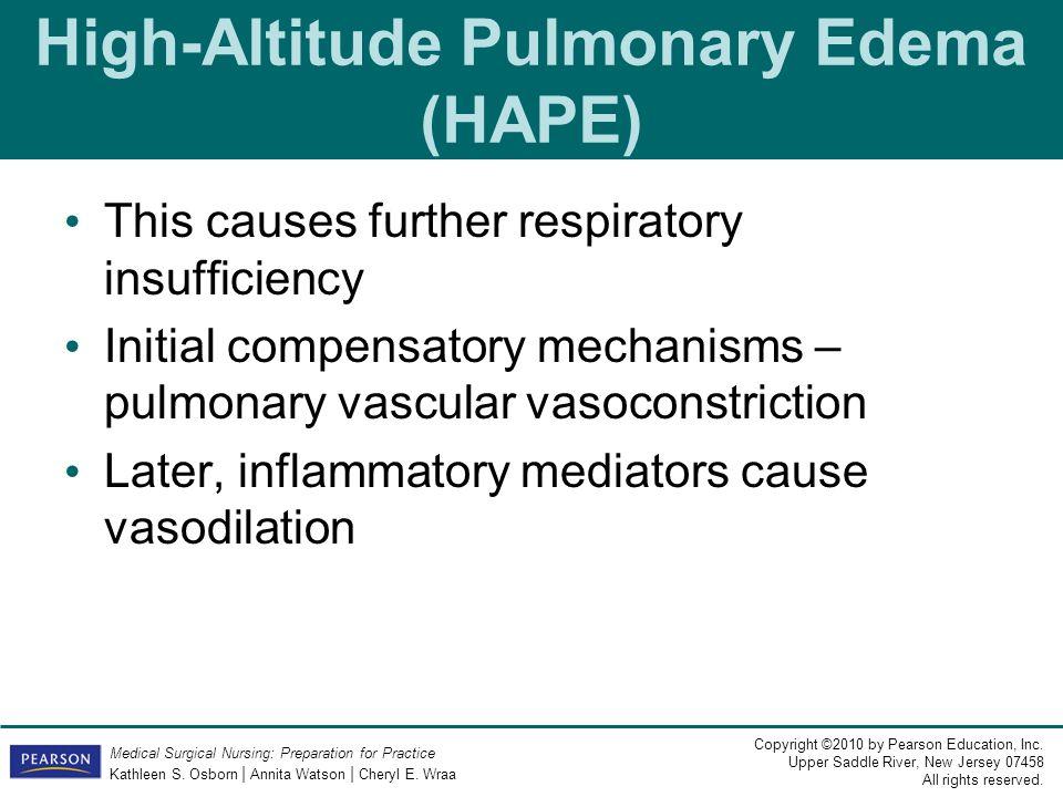 High-Altitude Pulmonary Edema (HAPE)