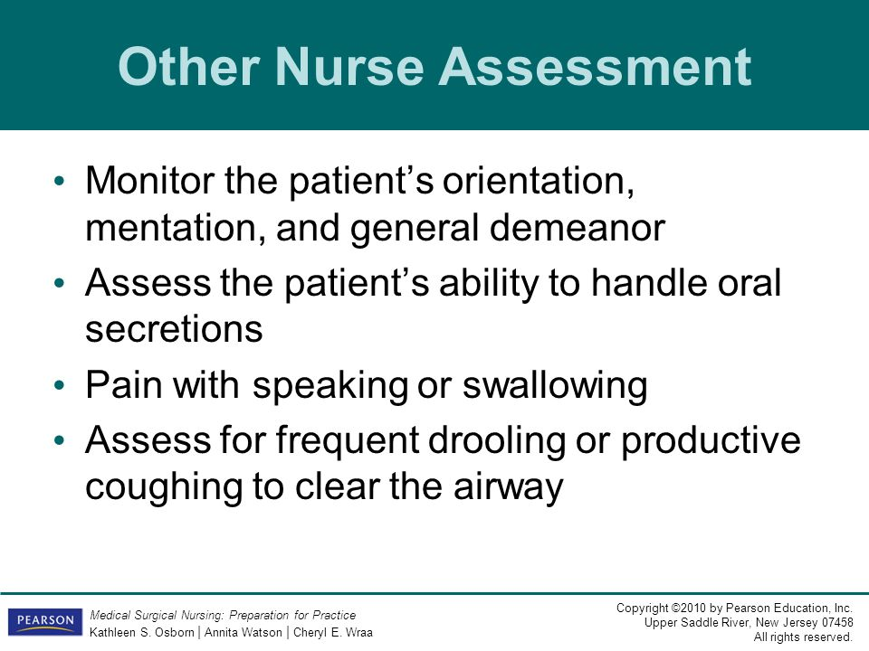 Other Nurse Assessment