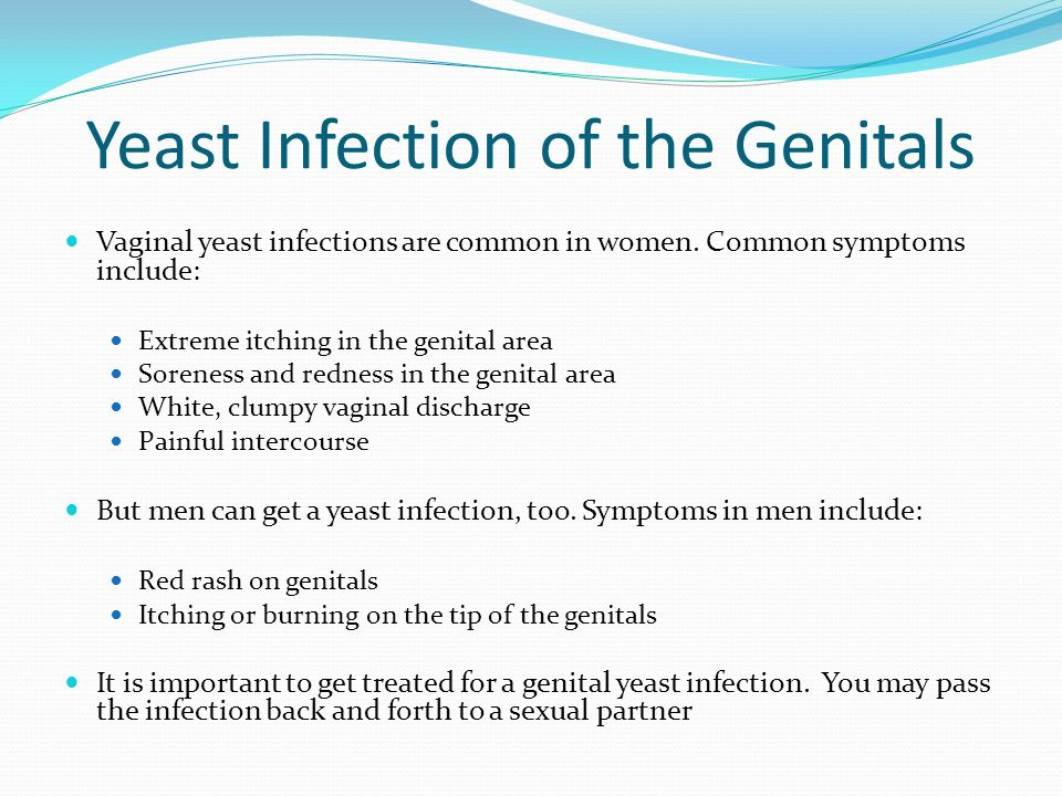 Yeast Infection Men Genital Fungal Infectio...