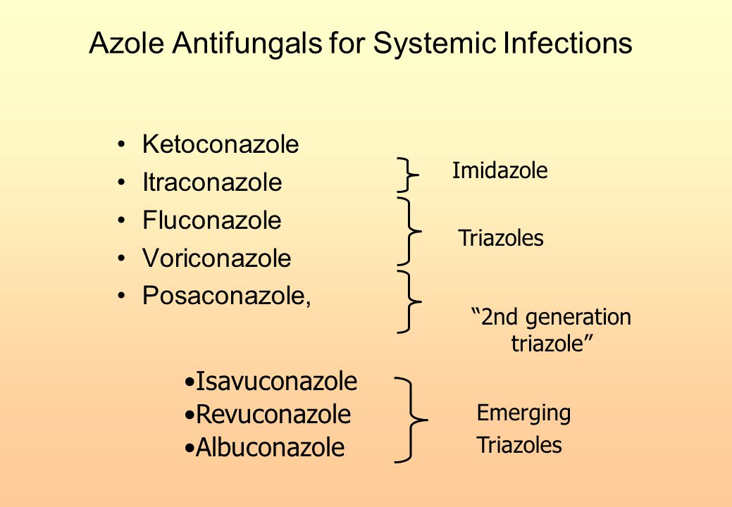 Azole Antifungals for Systemic Infections