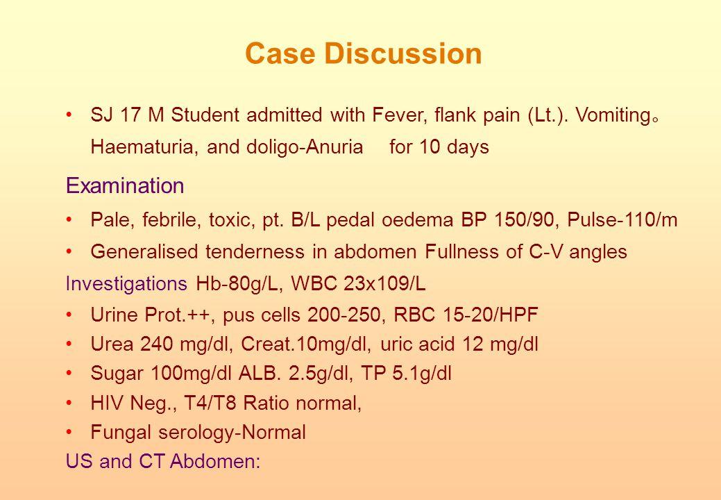 Case Discussion Examination