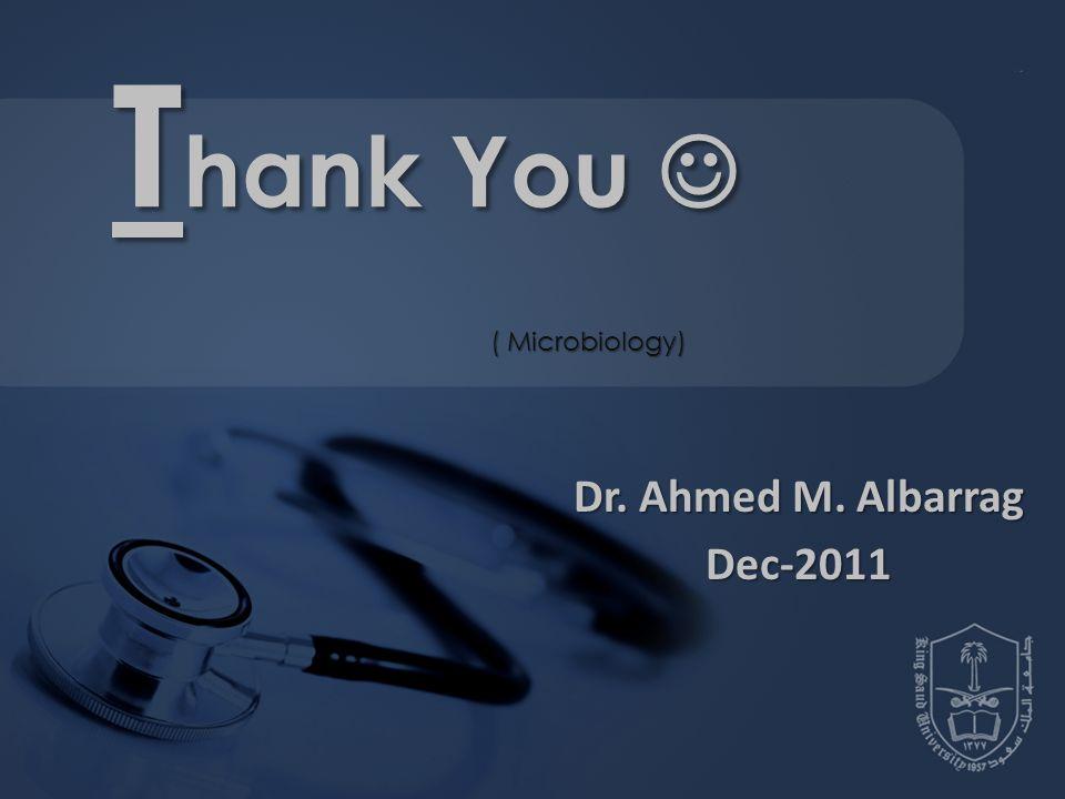 Dr. Ahmed M. Albarrag Dec-2011