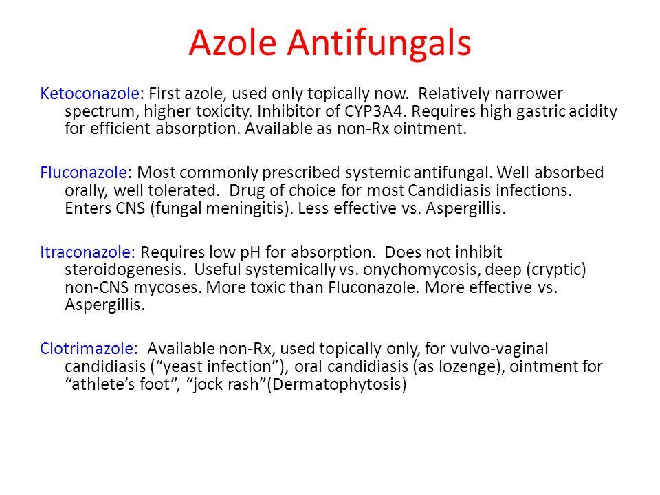 Azole Antifungals