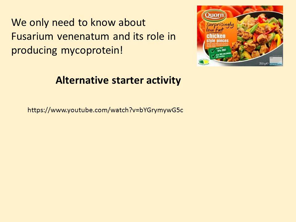 Alternative starter activity