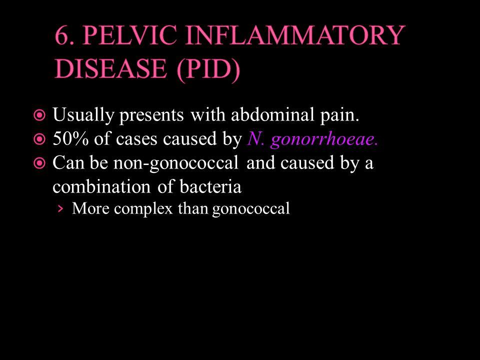 6. PELVIC INFLAMMATORY DISEASE (PID)